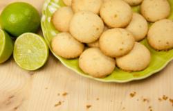 Biscottini al lime