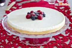 Cheesecake allo yogurt senza uova