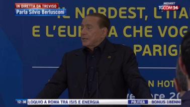 """Berlusconi attacca Renzi: """"Il bonus 18enni è disgustoso"""""""