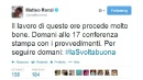 "Taglio tasse, Matteo Renzi prepara lo shock economico: ""E' #lasvoltabuona"""