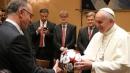 Il Bayern in visita dal Papa, un milione in beneficenza