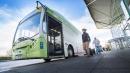 Il bus più green si muove con le feci