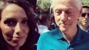 Bill Clinton e l'occhiata al seno