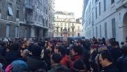 Charlie, a Milano in centinaia davanti al consolato francese