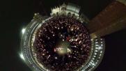Venezia, migliaia di candele in memoria di Valeria Solesin