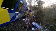 Germania, frontale tra treni in Baviera: 10 morti e 150 feriti