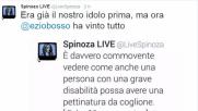 """Ezio Bosso, il botta e risposta ironico con """"Spinoza.it"""" è virale"""