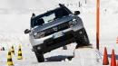 Ice drifting con Dacia Duster