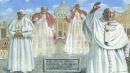 """""""Il giorno dei quattro Papi"""": un quadro per raccontare la canonizzazione"""