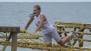 Isola dei Famosi, Simona Ventura si infortuna durante la prova leader