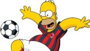 Bart e Homer Simpson Gli ultimi colpi del Milan