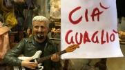 """Pino Daniele, il saluto anche nel presepe di Napoli con un """"cia'..."""