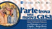 L'Aquila, inaugurato Munda con opere scampate a sisma