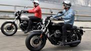 Moto Guzzi V9, Bobber e Roamer