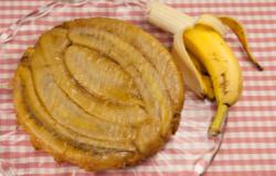 Tarte tatin alle banane