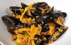 Paella di cous cous