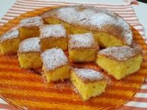 Torta farina di mais e limone