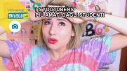 I 5 youtubers più amati dagli studenti