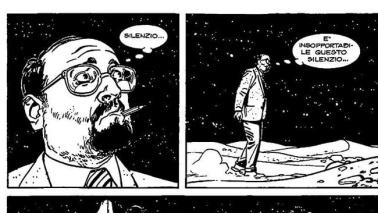 Umberto Eco, una testa tra le nuvole (parlanti)