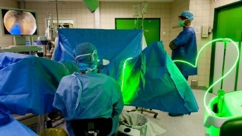green laser per prostata effetti collateralis