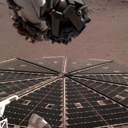 Marte, la sonda Insight registra per la prima volta il rumore del vento