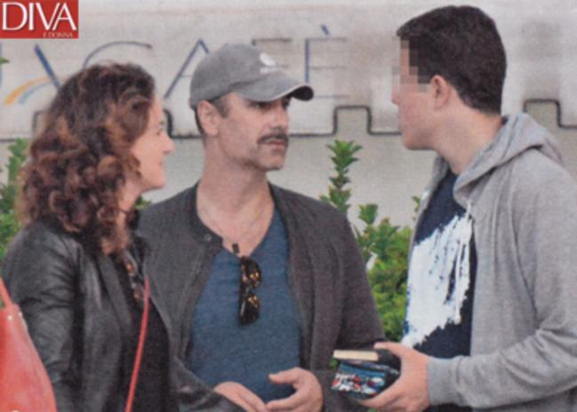 Raoul Bova e Chiara Giordano, pace tra ex