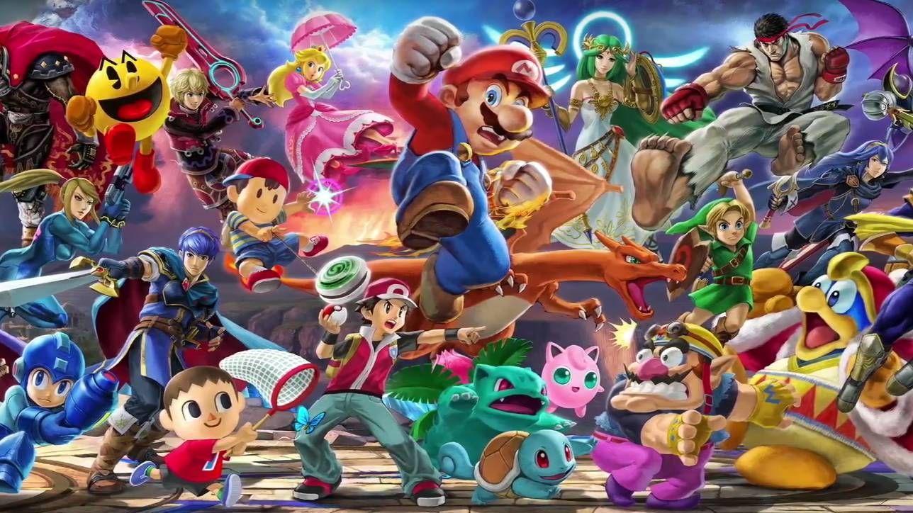 Super Mario sfida tutti in Super Smash Bros