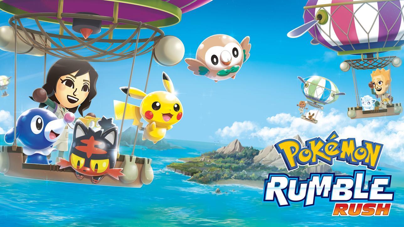 I Pokémon tornano su smartphone iOS e Android con Rumble Rush