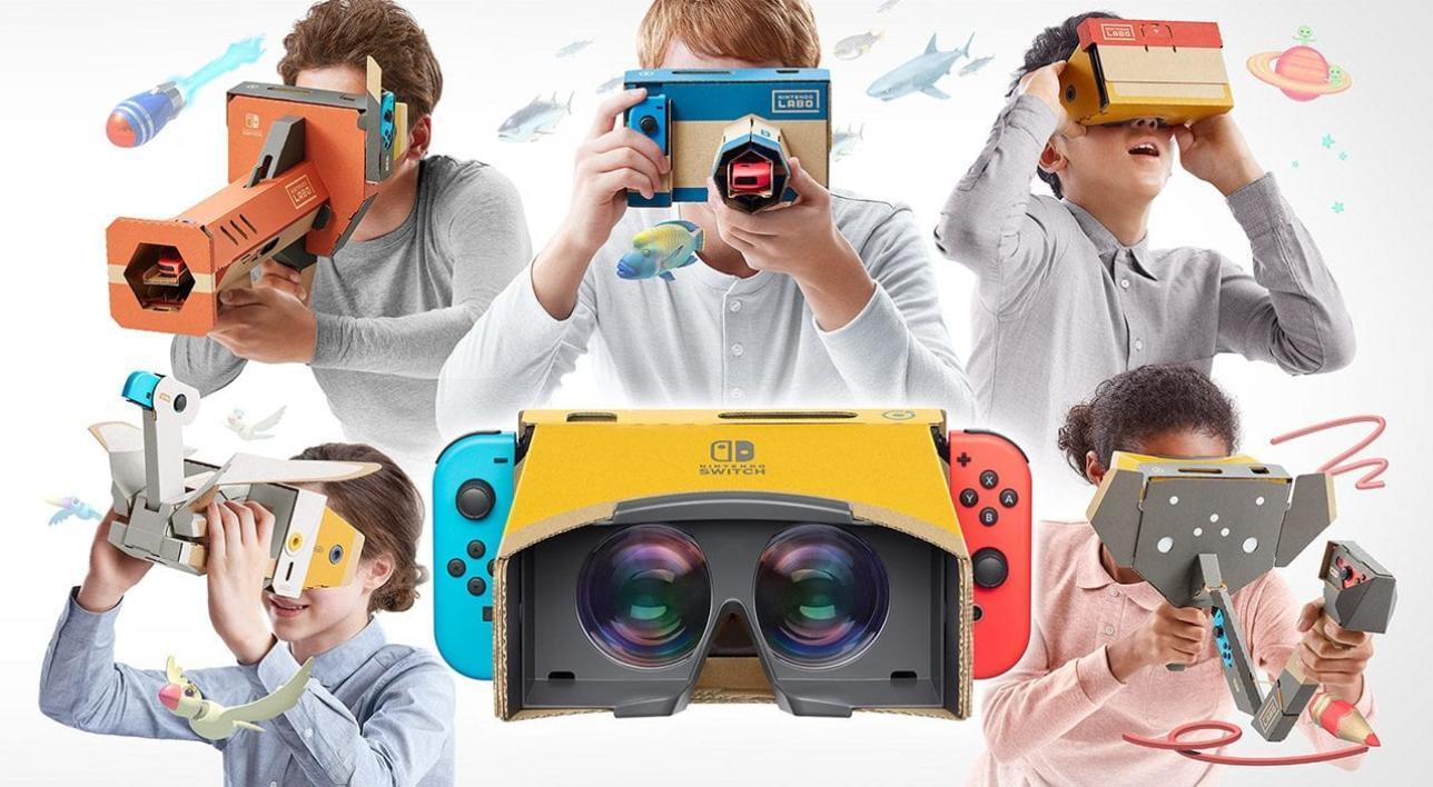Labo VR: ecco come funziona la realtà virtuale secondo Nintendo