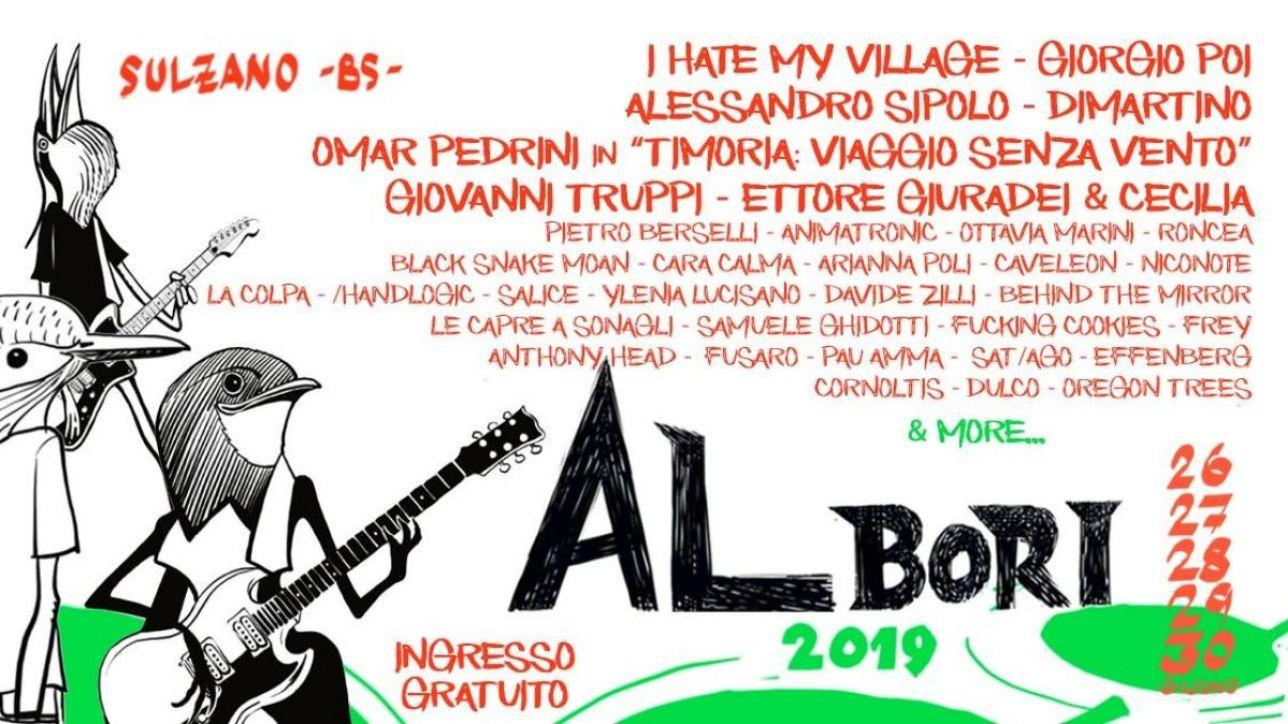 Albori music festival, dal 26 al 30 giugno musica e fumetti sul Lago d'Iseo
