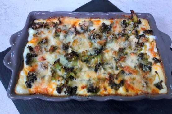 Lasagne broccoli e gorgonzola