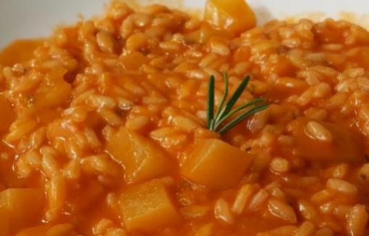 Risotto patate e rosmarino