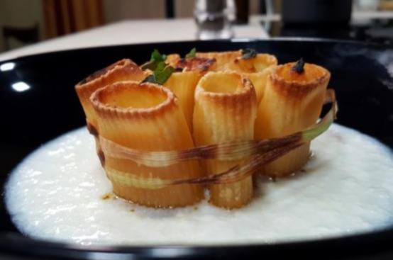Pasta al forno bouquet