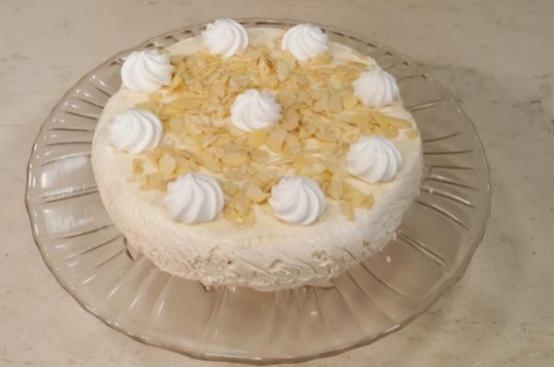Torta fredda alle meringhe