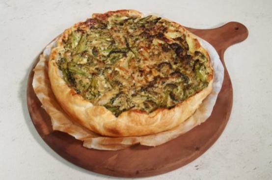 Torta salata broccoli e patate