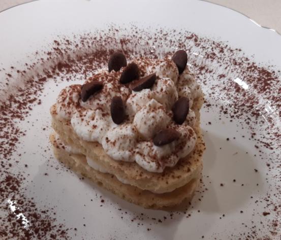 Cuore di panna e cioccolato