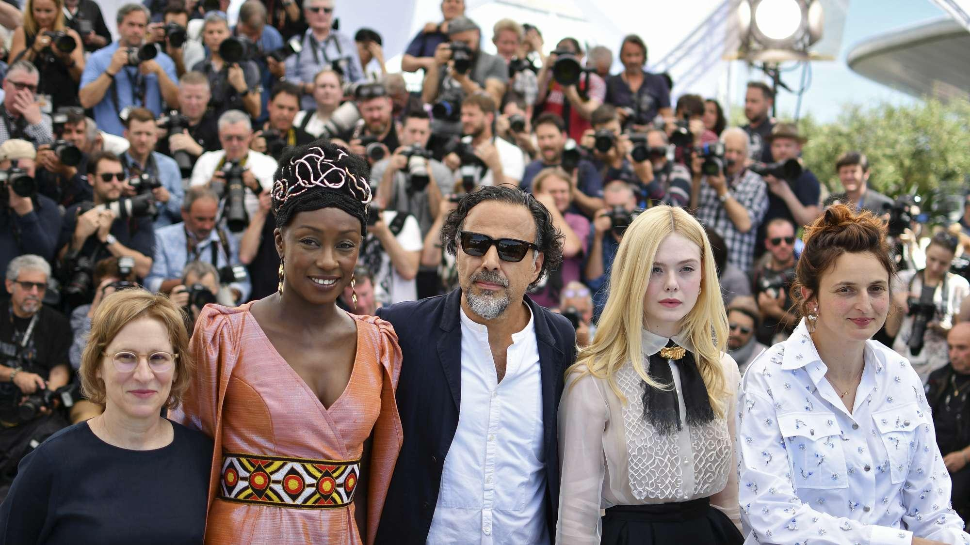 Cannes 2019, photocall della giuria presieduta da Inarritu