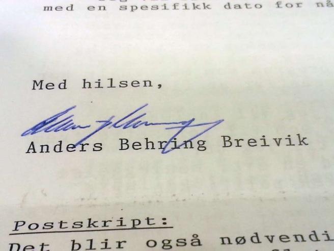 Norvegia, Breivik: