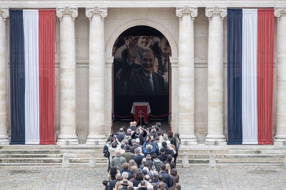 Chirac, la Francia rende omaggio all'ex Presidente della Repubblica