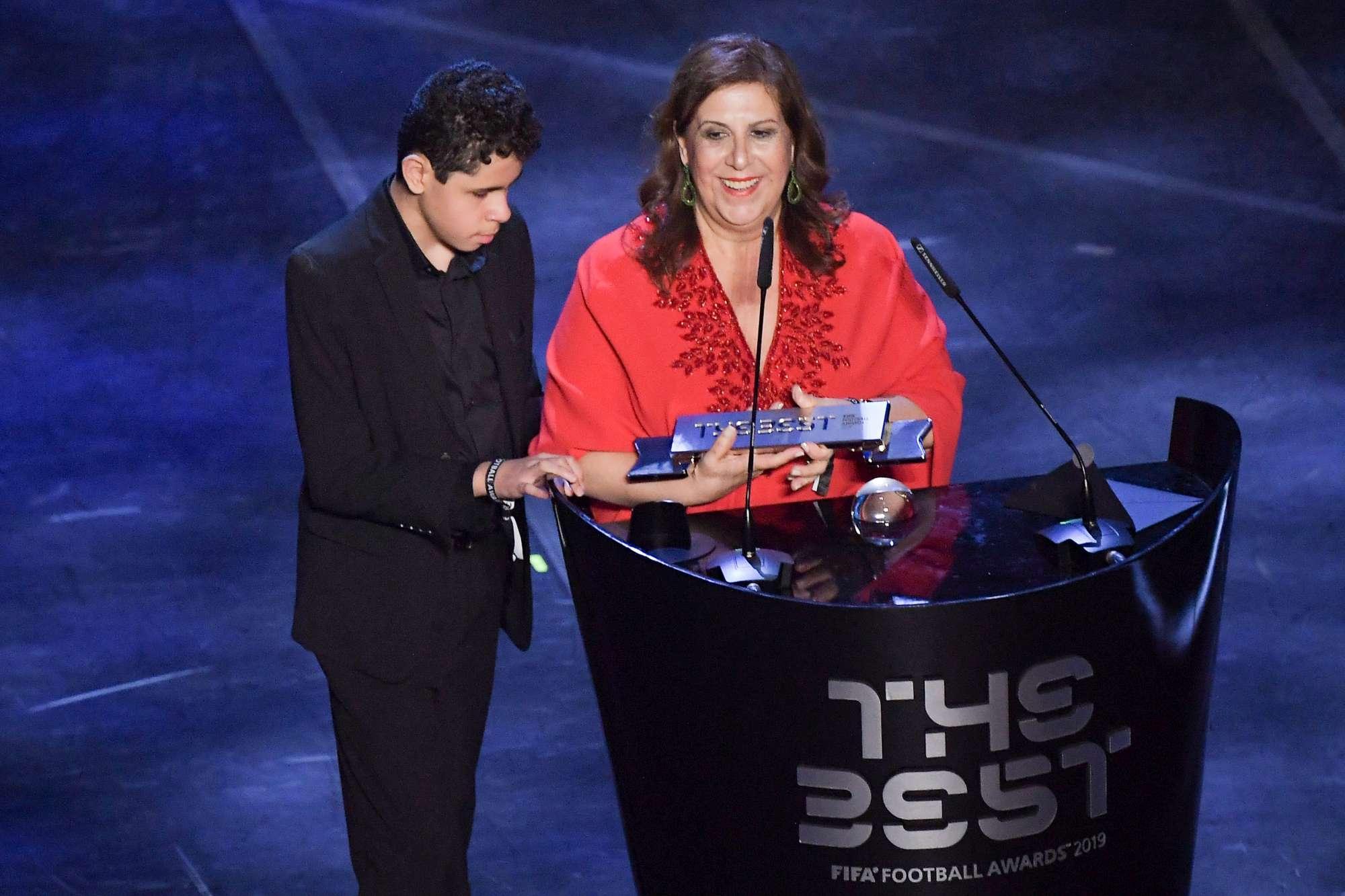 Silvia Grecco vince il FIFA Fan Award 2019