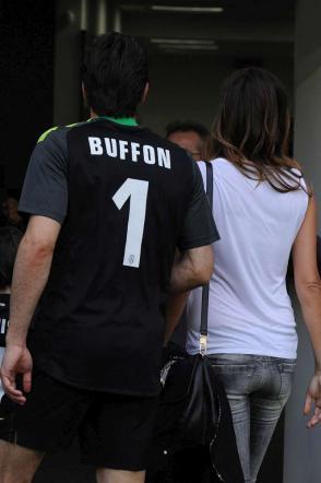 Alena Seredova-Gigi Buffon, tregua per la vittoria in Campionato della Juventus