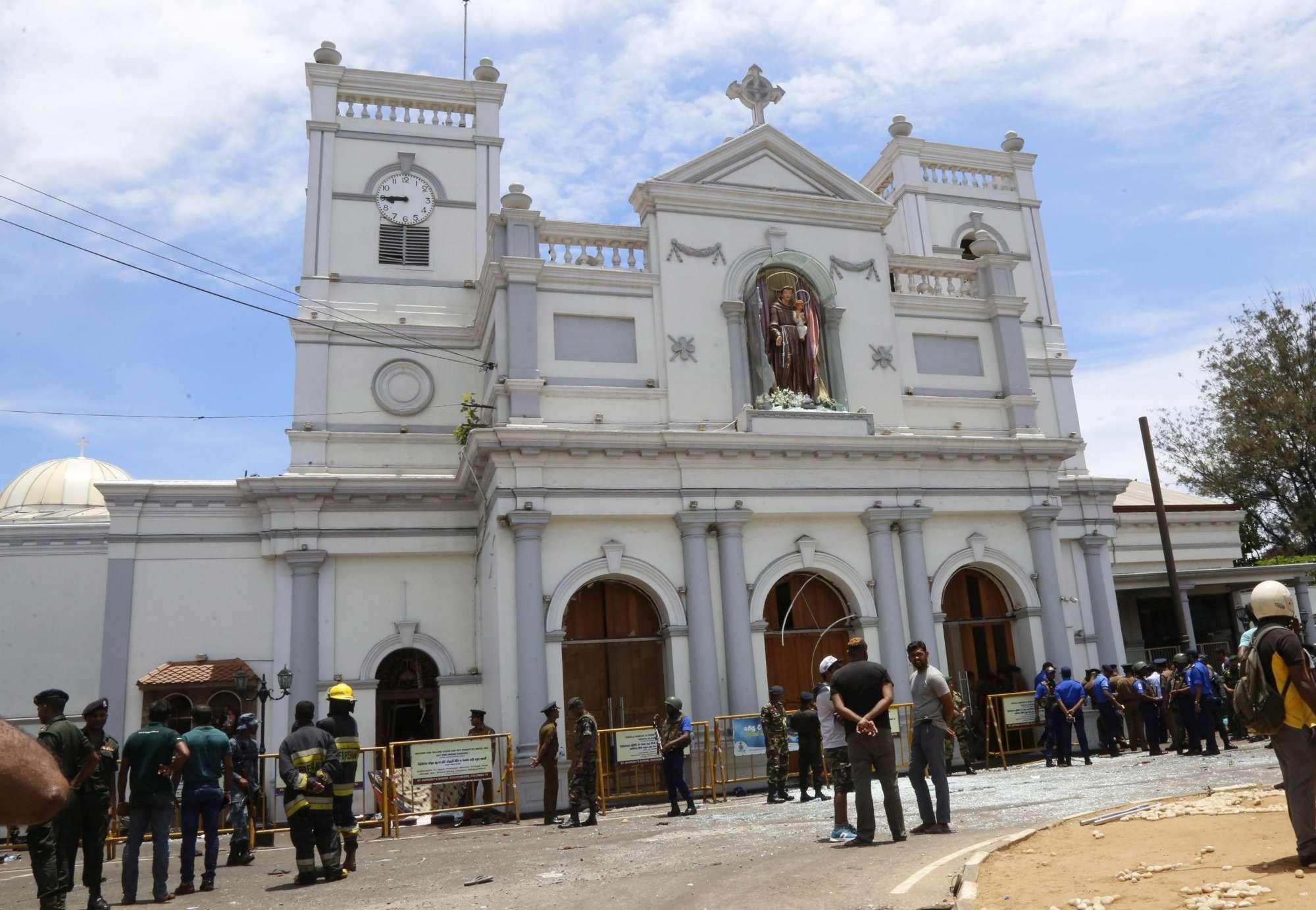 Sri Lanka, serie di esplosioni in chiese e hotel