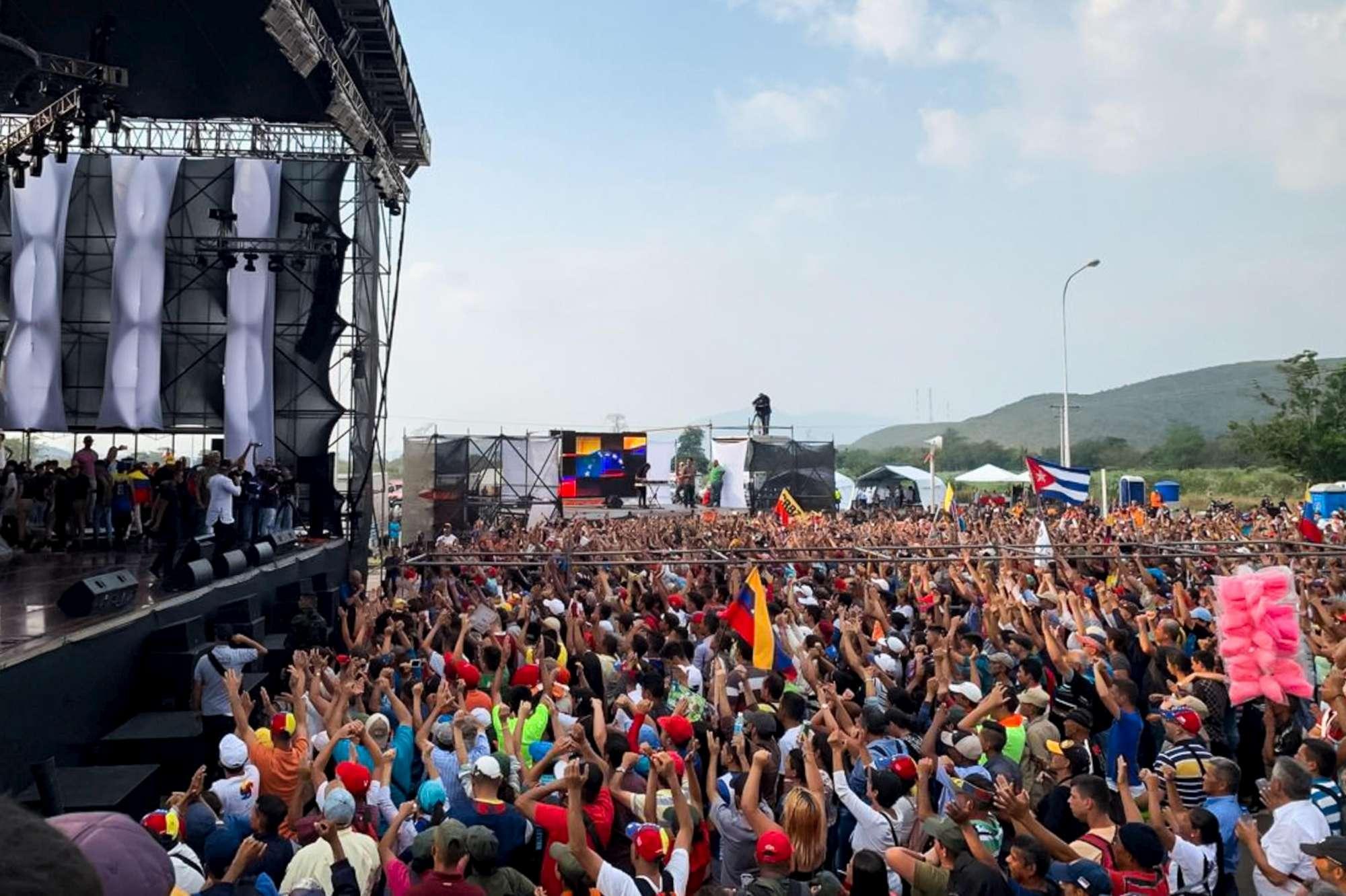 Venezuela, Guaidò vince la sfida dei concerti contro Maduro