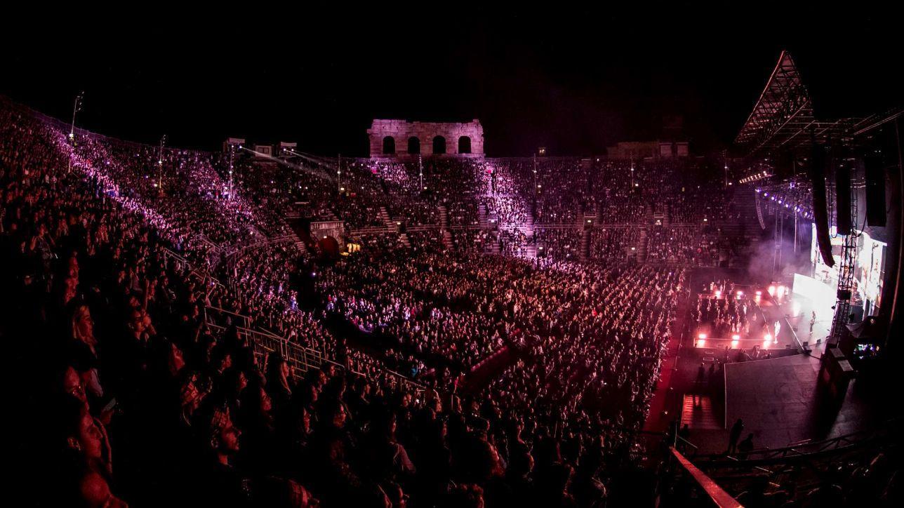 Le immagini di Coez all'Arena di Verona