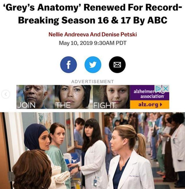 Grey's Anatomy, la saga di Meredith Grey continua