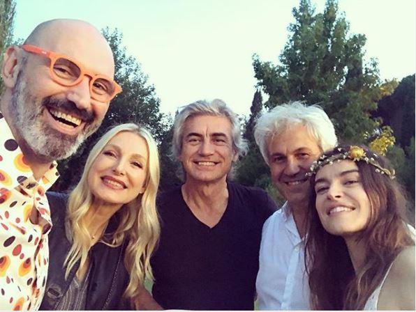 Nozze a sorpresa per Kasia Smutniak e Domenico Procacci