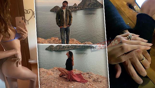 Belen e De Martino a Ibiza da soli: passione alle stelle