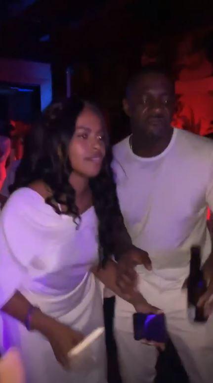 Le nozze di Idris Elba e Sabrina Dhowre