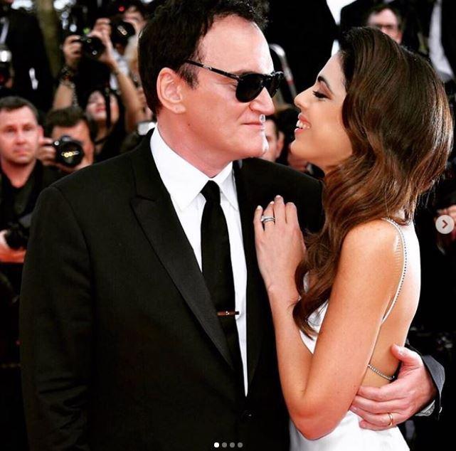 Quentin Tarantino papà a 56 anni