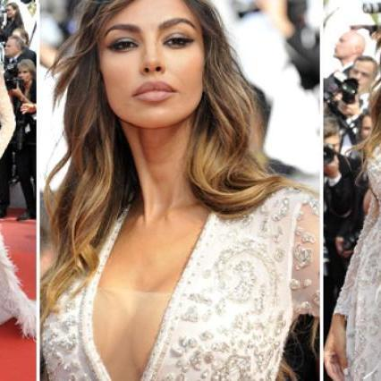 Madalina Ghenea, hot queen with the dress of crystals